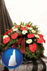new-hampshire a funeral flower wreath